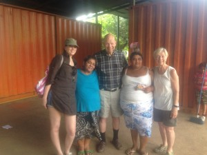 Executive Director Sanja, Bob, and Diane on their most recent trip to Nicaragua