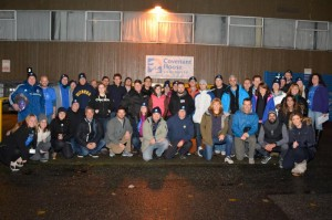 Participants of last year's Covenant House Sleep Out