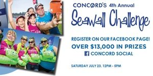 Concord's 4th Annual Seawall Challenge